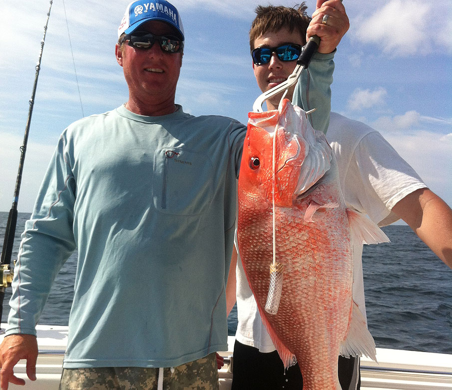KJ's Red Snapper on the Half Shell