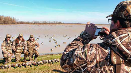 The Bachmanns of North Carolina gave their three sons a Christmas gift they will remember forever, a duck hunting trip to the mecca that is southeast Arkansas.