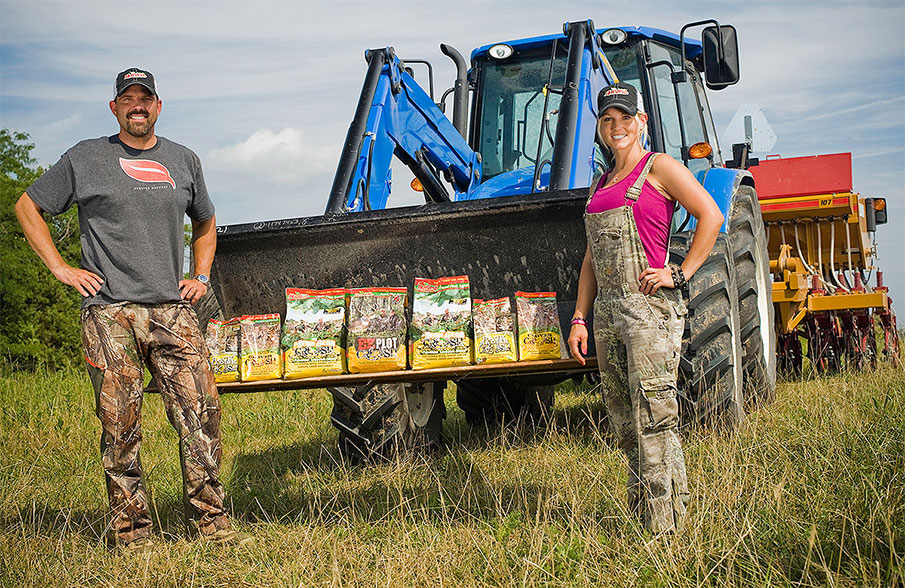 Summertime 'Big Buck Down' Food Plot Menu