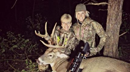 The mother of Outdoor Channel television personality Tiffany Lakosky and mother-in-law to Lee, Profant is often seen on the couple's hit TV show – Crush with Lee & Tiffany – cooking meals, giving big hugs to visitors and even putting down a tag or two on her own big buck.