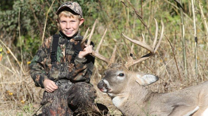 "Trey Merritt is only 11 years old, but he already has a distinguished hunting career. It's about to get better during an inaugural ""Live Deer Hunt"" on Outdoor Channel.com."