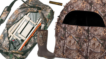 With the gift-giving season just around the corner, here are a few ideas for waterfowlers and deer hunters.
