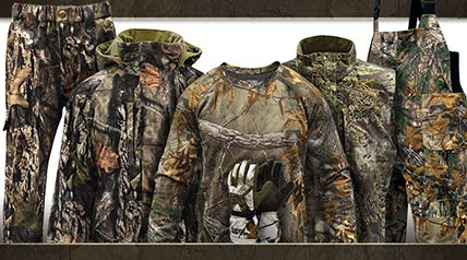 The new MidwayUSA Elk Fork Hunting Clothing line is designed for determined hunters who embrace the challenge of hunting in harsher climates.