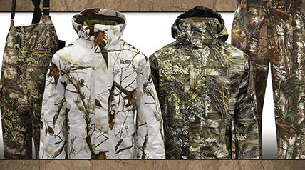 The MidwayUSA Mackenzie Mountain Hunting Clothing line was designed to make any outdoorsman comfortable in a variety of temperatures.