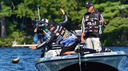 Jack Link's Major League Fishing this past weekend concluded the filming its General Tire Summit Cup event, a six-day competition that took place in the Waterville, Maine, region.