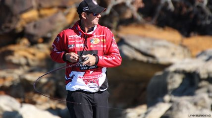 In the fall months, MLF pro Kevin VanDam is as good as he can be with crankbaits, jerkbaits and spinnerbaits. He's also pretty handy when it comes to topwater fishing.