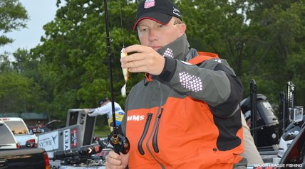 For bass pro Andy Montgomery, participating in the first day of competition to ever be contested in the new Major League Fishing GEICO Select events, is a bit of an adventure into the unknown.