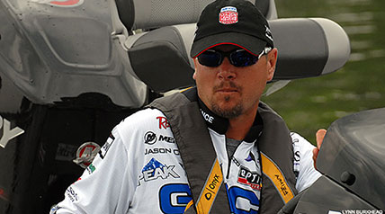 Angling pro Jason Christie is rarely stumped when he gets on the water during a bass fishing competition anywhere in the country.