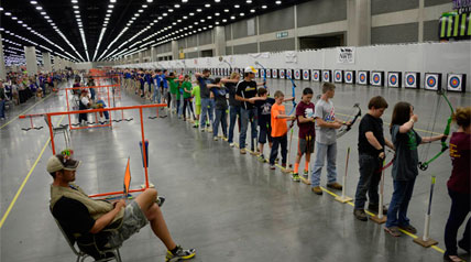 Even with humble estimates, Roy Grimes couldn't have expected what the National Archery in the Schools Program has accomplished.