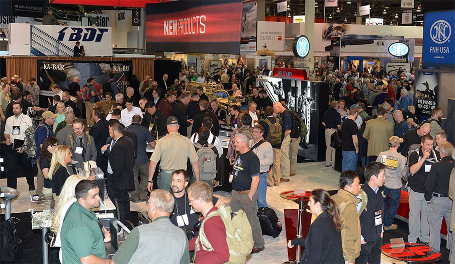 2015 SHOT Show Posts 2nd Highest Attendance Total Ever