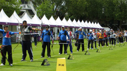 With an unofficial world record score during training, the USA Olympic archery team appears primed for the London Games.