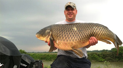 A new Ohio record carp taken by bowfishing has been certified by the Outdoor Writers of Ohio State Record Fish Committee.