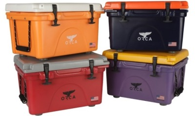 Branching out from the original five sizes, the 26, 40, 58, 75 and 140 quart coolers, ORCA is adding a 20 quart cooler.
