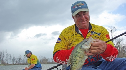 When November rolls around, days grow shorter and nights grow longer. The water temperature drops, and as favorable oxygen levels return throughout the water column, crappie start roaming like nomads.