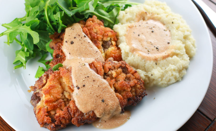 Paleo Chicken-Fried Venison Steak Recipe