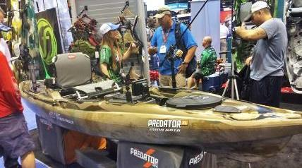 "Excitement hit the Johnson Outdoors Watercraft team when news spread of their big win at ICAST. ""Overall Best of Show, Baby!"""