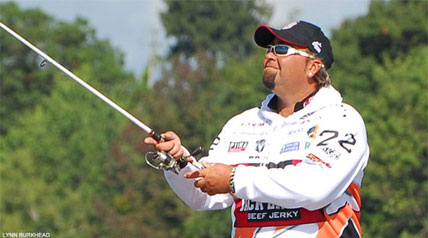 Jason Quinn is a happy-go-lucky kind of an angler who likes to have loads of fun as he fishes, something that has been evident as he has smiled his way through the Jack Link's Major League Fishing 2013 General Tire Summit Cup competition.