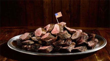 Forget apple pie. There is no food more fundamental to this nation than a haunch of venison