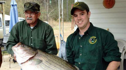 On May 13, 2013, James Bramlett of Dora, Ala., received a highly anticipated call from the International Game Fish Association (IGFA). Bramlett was informed that his a 69-pound, 9-ounce landlocked striped bass now holds the world record for that species.