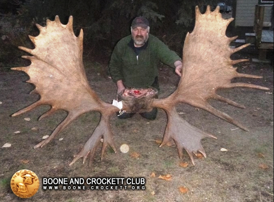 World's Record Moose Verified by Boone and Crockett