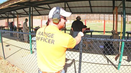 Rifle ranges really pick up the first week of October. Range Manager Grant Tomlin says