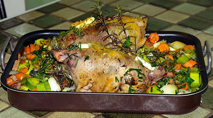 Delicious and delicate, this roasted pheasant recipe will keep your guests drooling.