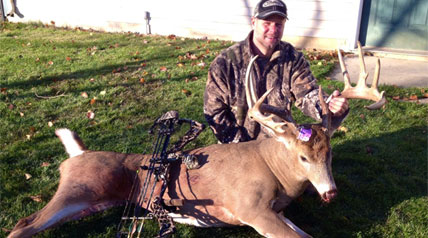 You don't have to be familiar with myocardial perfusion imaging or radionuclide ventriculography or even positron emission tomography in order to bag the deer of a lifetime. But Scott Vogt, 42, is. And he did.