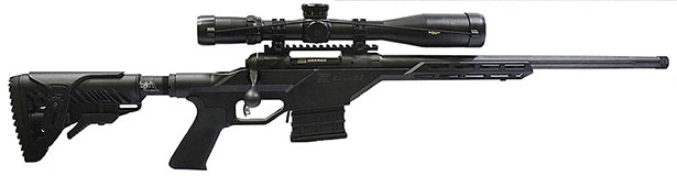 Savage Model 10 BA Stealth Rifle