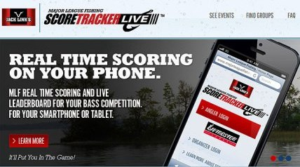 Major League Fishing's innovative every-catch-counts competition format – complete with an in-boat leaderboard for all competitors – is now available to local tournament anglers through an Internet-based program called MLF SCORETRACKER LIVE.