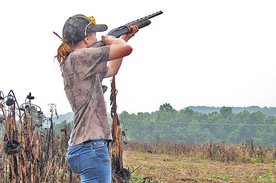 Shotgun Shooting Form Critical for Dove Hunting Success