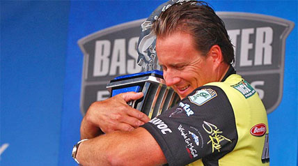 Skeet Reese is on fire — again. The Auburn, Calif., superstar of bass fishing was victorious Sunday in the Bassmaster Elite Series' West Point Lake Battle after starting the final round in seventh place, almost 2 1/2 pounds behind leader Tommy Biffle.