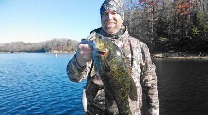 Winds blowing straight from Santa Claus' abode at the North Pole rocketed across Kentucky this past week, bringing with them the start of reservoir smallmouth bass fishing season.