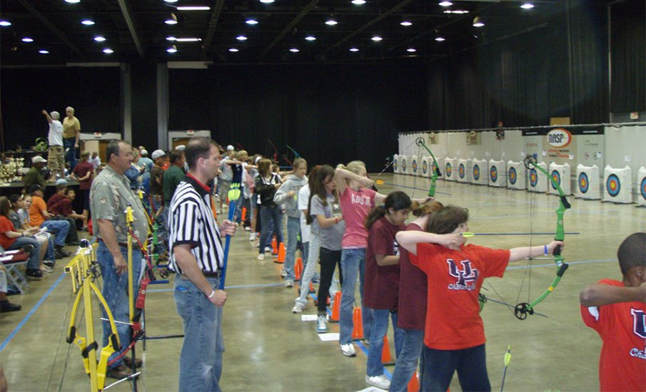Texas School Archery Championship Draws Record 1,600 Kids