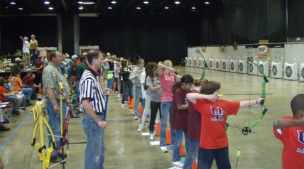 For those competing March 4-5, college scholarships will go to the top five male and top five female high school archers, along with trophies, ribbons, and t-shirts in all categories.