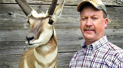A new Oklahoma-record pronghorn has been certified by the Oklahoma Department of Wildlife Conservation's Cy Curtis Awards Program.