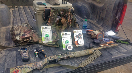 A must-have checklist of turkey hunting gear and equipment to pack in your vest; these items will prepare you for most hunting situations and challenges you may face when chasing longbeards in the spring.