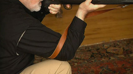 Learn how to use a gun sling for shooting accuracy with David Petzal. This is Outdoor Channel's hunting rifles tactical guide, only at OutdoorChannel.com.
