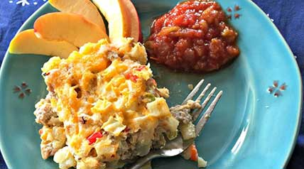 This elk or deer venison sausage hash brown casserole recipe will put smiles on your family's face and leave your kitchen smelling fantastic.