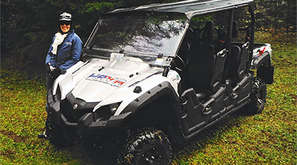 Honored American Veterans Afield (HAVA) announces the donation of a Viking VI (6-seat) Side-by-Side (SxS) vehicle from Yamaha Outdoors for use with the disabled veterans and injured active military which it serves.
