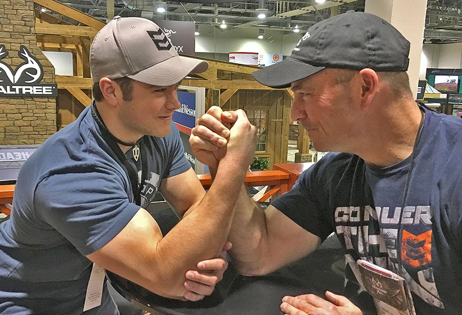 Wrestling for Tradeshow Memories Vital to 'Raised Hunting' Family
