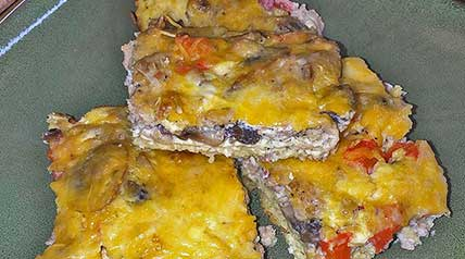 This wild turkey breakfast casserole is a great make-ahead recipe for those busy weekday mornings or a camping trip!