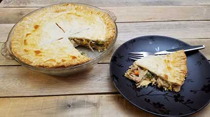 Turn leftover wild turkey into the ultimate comfort food with this easy recipe for pot pie.