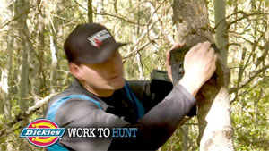 Work To Hunt presented by Dickies - Trail Camera (Video)