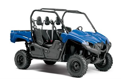 The new Viking was designed and engineered as a robust and high-capacity utility vehicle. It combines Yamaha's most powerful four-wheel drive engine to date with a comfortable and confidence-inspiring three-person cab, precision steering and class-leading handling.