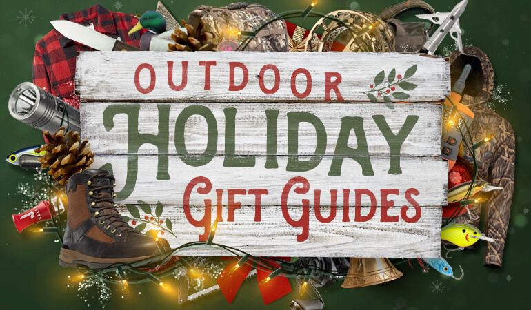Best Holiday Gift Ideas for Hunters, Anglers & Shooters