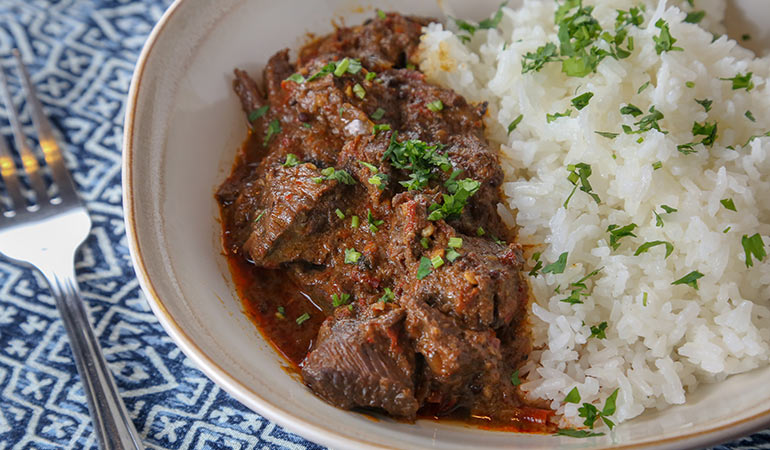 Spicy Elk Venison Vindaloo Recipe