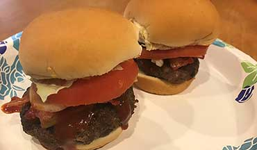 If you prefer sliders over the traditional-sized burger, try this easy-to-make venison recipe.