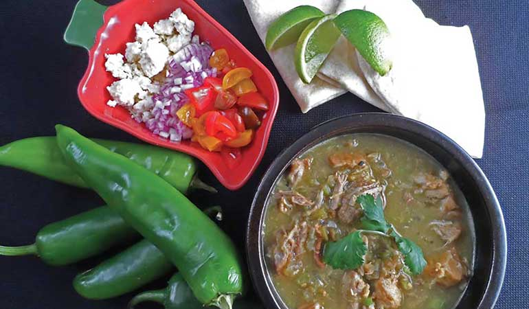 Wild Hog Chile Verde Recipe