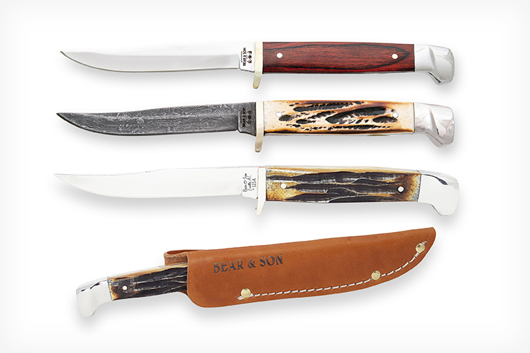 Bear & Son Cutlery Small Hunter Series