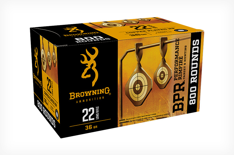 Browning Performance Rimfire Ammo
